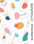 abstract vector background.... | Shutterstock .eps vector #1772629298