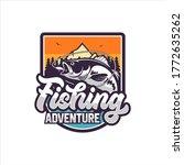 fishing adventure vector design ...   Shutterstock .eps vector #1772635262