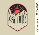 camping nature adventure wild... | Shutterstock .eps vector #1772641745