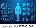 healthcare futuristic scanning...