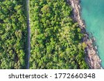 top view of the khanom sichon...   Shutterstock . vector #1772660348