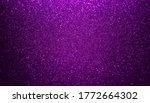 Shiny Purple Glitter Texture...