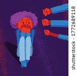 bullying vector concept ... | Shutterstock .eps vector #1772689118