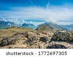 Flattop Mountain Trail On A...