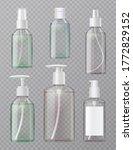 hand sanitizer full clear... | Shutterstock .eps vector #1772829152