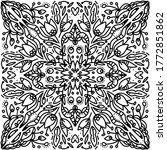 black and white pattern vector...   Shutterstock .eps vector #1772851862