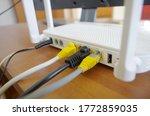 Fiber Optic Internet. Network...