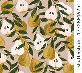 Pear Seamless Pattern....
