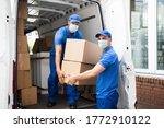 Delivery Men Unloading...