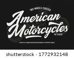 """american Motorcycles""...."