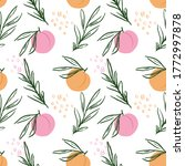 Sweet Juicy Peaches Modern...