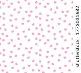 seamless tileable kawaii cute... | Shutterstock .eps vector #1773031682
