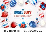 independence day background and ... | Shutterstock . vector #1773039302