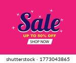 sale banner template design ... | Shutterstock .eps vector #1773043865