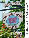 Small photo of LAWRENCE, NJ –4 JUL 2020- View of Cherry Grove Farm, a farmstead creamery making cheese in Lawrenceville, New Jersey, United States.
