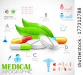 illustration of healthcare and...   Shutterstock .eps vector #177312788