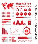 set of infographics elements | Shutterstock .eps vector #177317072