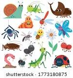 vector illustration of cute... | Shutterstock .eps vector #1773180875
