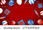 independence day background.... | Shutterstock . vector #1773259565