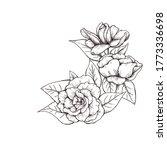 Vintage Style Gardenia Flower...