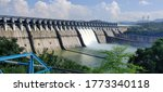 The dam on the holy narmada...