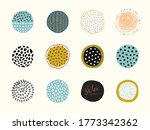 artistic circle elements. use... | Shutterstock .eps vector #1773342362