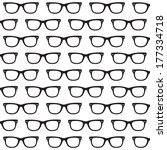 sunglasses background | Shutterstock . vector #177334718