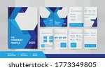 8 pages creative business...   Shutterstock .eps vector #1773349805