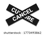 cancel culture   being nulled ... | Shutterstock .eps vector #1773493862