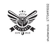 vintage aircraf logo design...   Shutterstock .eps vector #1773495032