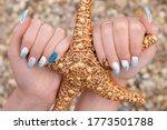 Manicure Summer Sea Shell...