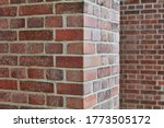 Red Brick And Brick Edge From...
