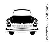 car retro clipart vector... | Shutterstock .eps vector #1773509042