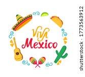 Viva Mexico Hand Drawn...