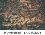 Dark Brown Wood Background....