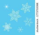 vector illustration of delicate ... | Shutterstock .eps vector #1773703388