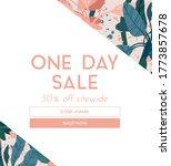 delicate pale summer design...   Shutterstock . vector #1773857678