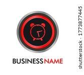 this is alarm button icon logo...