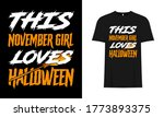 this november girl loves...   Shutterstock .eps vector #1773893375