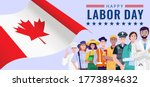 happy labor day. various... | Shutterstock .eps vector #1773894632