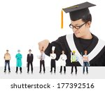 graduation male student have... | Shutterstock . vector #177392516