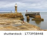 View Of Whitby East Lighthouse...