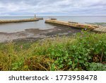 Elevated View Of Whitby Harbou...