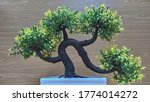 Bonsai Tree  Artificial  With A ...