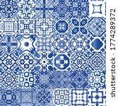 ethnic ceramic tiles in...   Shutterstock .eps vector #1774289372