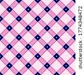 simple lattice weave grid... | Shutterstock .eps vector #1774348472