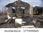 Remains Of A Burned Down House...