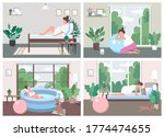 place for childbirth at home... | Shutterstock .eps vector #1774474655