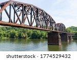 An Old Steel Railroad Trestle...