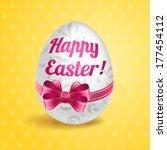vector easter illustration for... | Shutterstock .eps vector #177454112